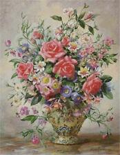 "NEW Cross Stitch Kits DMC""Williams flowder-colorful flower """