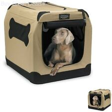 Port A Crate E2 Indoor Outdoor Pet Home - Portable Dog House Tent Medium Large