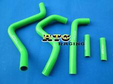 Kawasaki KX250 KX 250 1994-2002 95 96 97 98 99 00 silicone radiator hose GREEN
