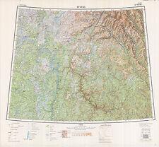 Russian Soviet Military Topographic Maps - IGARKA (Russia) 1:1Mio, ed.1956