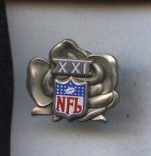 Original 1987 NFL Super Bowl XXI 21 Press Pin NRMT