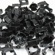 100 × Black DIY 18650 Battery Holder Bracket Lidless Battery Pack