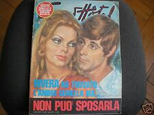 GIANNI RIVERA MILAN INNAMORATO COPERTINA GRAND HOTEL 1970!