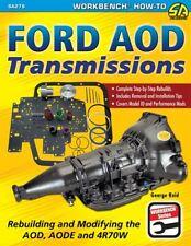 Ford Aod Aode 4R70W Trans Rebuild Modify Mustang Cougar Lincoln F150 Ltd Bronco