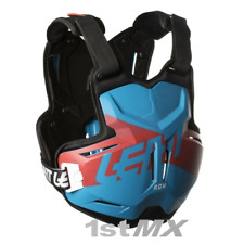 Leatt 2.5 Motocross Chest Armour Protector for Leatt Brace Rox Blue Red Adults