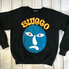 Sluggo Sweatshirt - Mr Bill - Black Vintage SNL Graphic Crewneck Streetwear