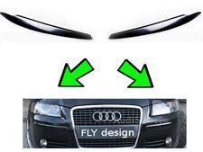 Audi A3 Cabriolet S3 Tuning Evil Eye Evil Eye Eyelid Cover Headlight Eyebrow