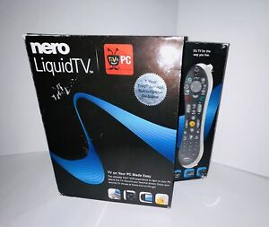 Nero LiquidTV TIVO PC - TV on Your PC Made Easy