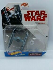Disney Hot Wheels Starships Star Wars TIE Fighter with flight stand