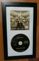 V2 The Weeknd Signed Heartless Autographed CD Cover Booklet Framed PSA COA -REAL