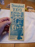 Disneyland Today Brochure July 1986 - MINT - Make Offer