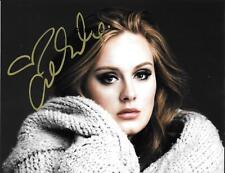 ADELE 2 REPRINT 8X10 AUTOGRAPHED SIGNED PHOTO PICTURE COLLECTIBLE RP SINGER
