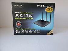 Asus RT-AC66U B1 Dual Band 3 x 3 AC1750 WiFi Gigabit Wireless Router 19v 1.75A