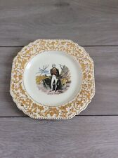 More details for lord nelson pottery, hand crafted guilded plate.