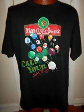 New listing Vintage Budweiser 1998 Call Your Shots T-Shirt Billiards Pool Ball Men's XL.