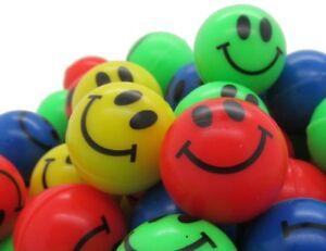 48x Flummis Smile extra groß 4,5 cm XXL Flummi Springball Hüpfball Ball 45 mm