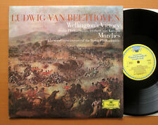 DG 643 210 Beethoven Wellington's Victory & Marches Karajan TULIP Stereo NM/EX