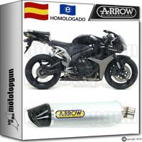 ARROW TUBO DE ESCAPE INDYRACE ALUMINIO CARBON-CUP HOM HONDA CBR 600-RR 2007 07