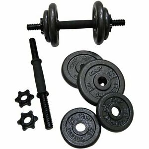 CAP 40 Lb Adjustable Cast Iron Dumbbell Weight Set [Same-Day Free Shipping!]