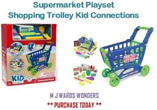 Supermarket Playset – Shopping Trolley - Kid Connections – Children's Toy