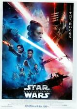 Star Wars Rise of Skywalker Chirashi Mini Movie Poster Japan C1270