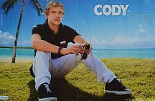 CODY SIMPSON - A3 Poster (ca. 42 x 28 cm) - Clippings Fan Sammlung NEU