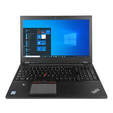 """Lenovo ThinkPad P50 Intel Core i7-6820HQ 32GB 512GB SSD 4K 15,6"""""""