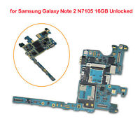 Motherboard Logic Board Replacement for Samsung Galaxy Note2 N7105 16GB Unlocked