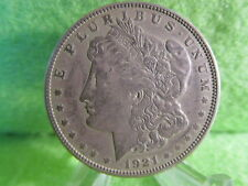 1921 D MORGAN SILVER DOLLAR IN EXTRA FINE CONDITION