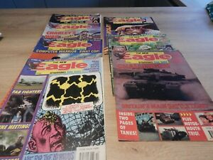 Vintage Eagle Comics 7 Issues Dated 1991