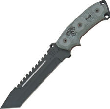 TOPS Fixed Blade Knife New Steel Eagle SE107D