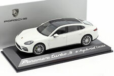 Porsche Panamera Turbo S E-Hybrid Executive G2 carrera weiß metallic 1:43 Herpa