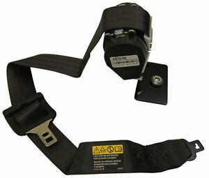 2009-2010 Hummer H3 Rear Center Seat Belt New OEM Black 94734340 19208909