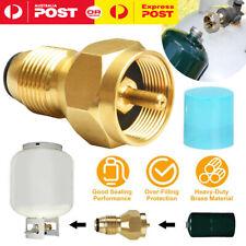BBQ Propane Gas Refill Adapter 1Lb Cylinder Tank Coupler Heater Bottle Tool Kit