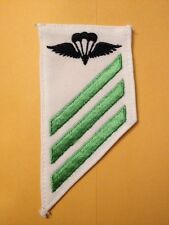 US NAVY RATE PATCH AIRCREW SURVIVAL EQUIPMENTMAN (PR) E-3 SUMMER DRESS WHITES