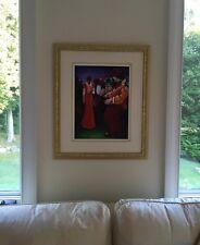 """""""Le Coup De Foudre"""" 1996 Lise Lacaille Oil On Canvas Signed"""