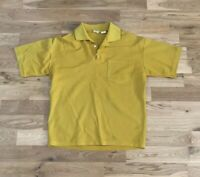 Vintage 50's Brent Montgomery Ward Men's Pocket Polo Shirt Large Hippie Mod Surf