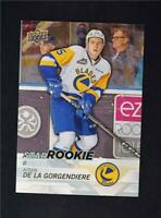 2018-19 18-19 UD Upper Deck CHL Star Rookie #314 Aiden De La Gorgendiere RC