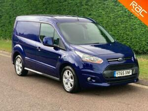 """2015 """"65"""" FORD TRANSIT CONNECT 1.6 TDCI (115 BHP) LIMITED L1 (NO VAT)"""