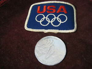 "1998 Nagano Winter Olympics Ski Jumping Proof Aluminum 1.5"" Coin, General Mills"