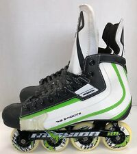 5a4ae715499 New Mission Syndicate SX1 Senior Hockey Inline Roller blade size 13D  rollerblade