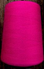Cashmere wool blend yarn,  2000 yards, 5 oz., megenta