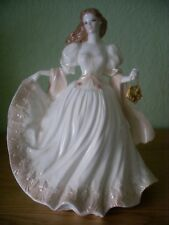 ROYAL WORCESTER FIGURE VIENNESE WALTZ GLITTERING OCCASIONS BEAUTIFUL