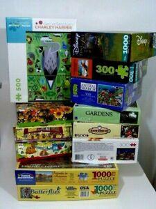 Large lot 12 x  FANTASTIC puzzles