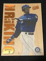 * FLAWLESS EXAMPLE! * 1996 Ultra Fleer Baseball KEN GRIFFEY JR HR KING, Mariners