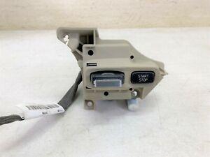 S80 XC70 V70 OEM IN DASH KEY IGNITION STOP START SWITCH