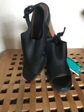 Marni + H&M Leather Platform Shoes: UK8/ EUR 41.... Brand New with Tags.