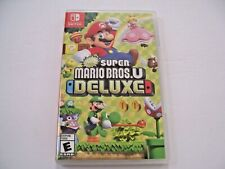 Replacement ORIGINAL Case Box Insert Nintendo Switch Super Mario Bros. U Deluxe