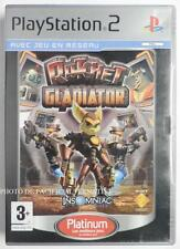 COMPLET jeu RATCHET GLADIATOR platinum playstation 2 PS2 en francais juego gioco