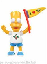 Simpsons Series 2 KrustyLu Studios Loose Figure - Bart Simpson Waving Flag